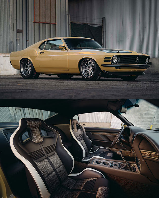 Supercharged Mustang Yellow: SpeedKore Built This Supercharged Mustang 302 Boss For