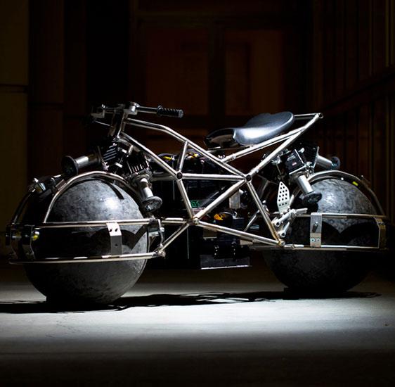 Spherical Drive Motorcycle