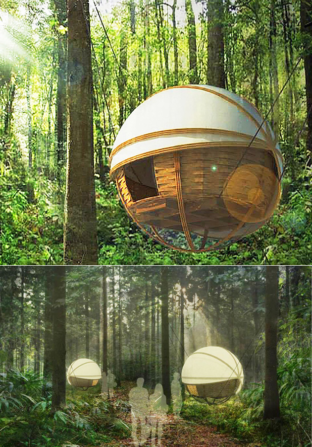 Spherical Lodge