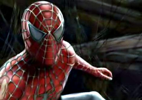 a Spider Man portrait