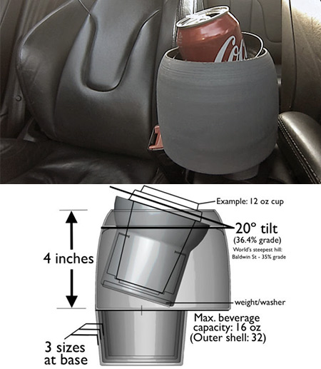 Maksimatic Spill-Proof Cup Holder