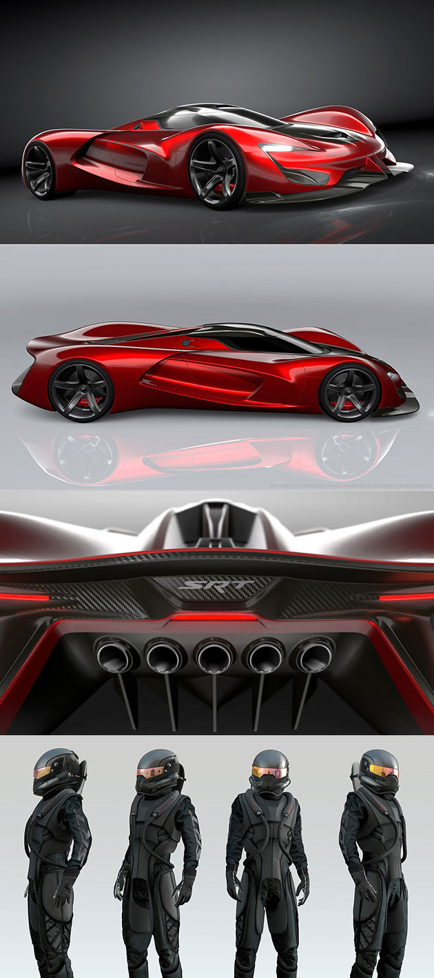 Srt Tomahawk Vision Gran Turismo Unveiled Is Powered By A 2 590 Horsepower V10 Engine Techeblog