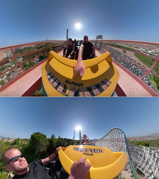 Stabilized Roller Coaster