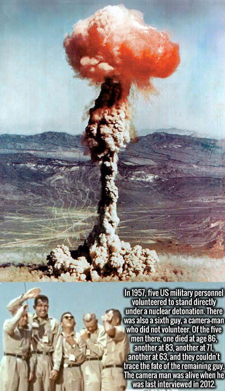 Standing Under Nuclear Blast