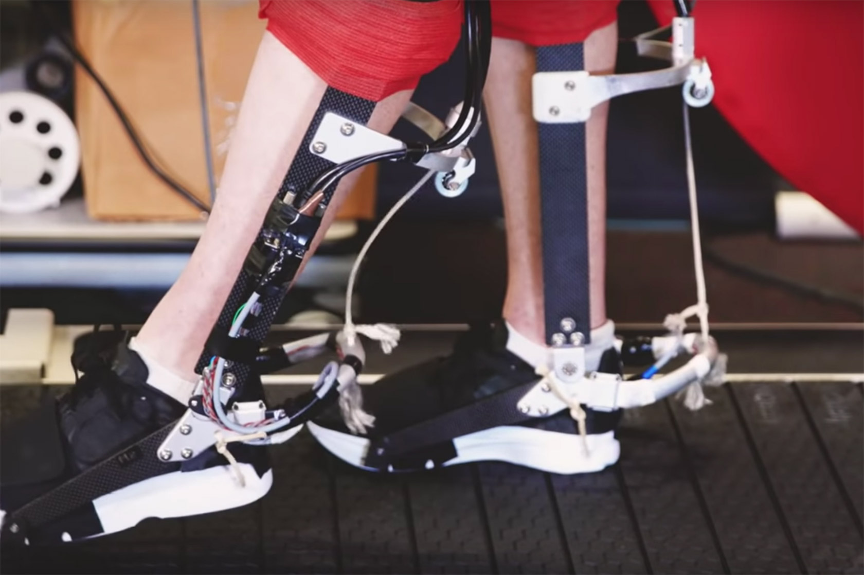 Stanford Ankle Exoskeleton Research