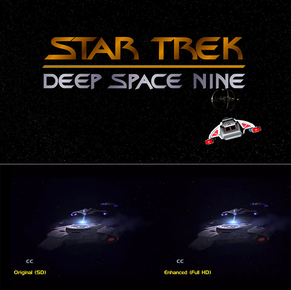 Star Trek DS9 Machine Learning