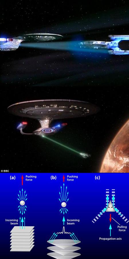 Les chercheurs développent faisceau tracteur de Star Trek-Like qui déplace les objets avec des ultrasons