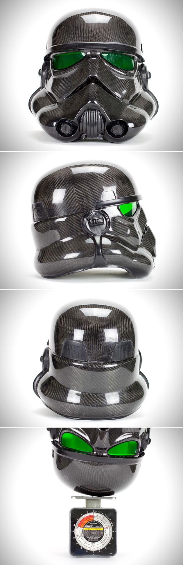 Star Wars Stormtrooper Carbon Fiber Helmet