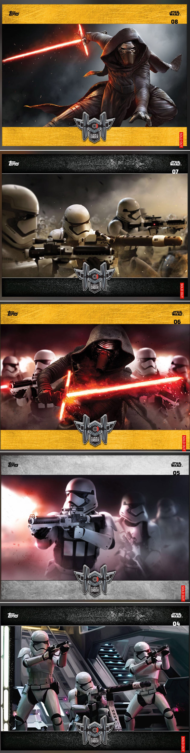 Star Wars Force Awakens Card Trader