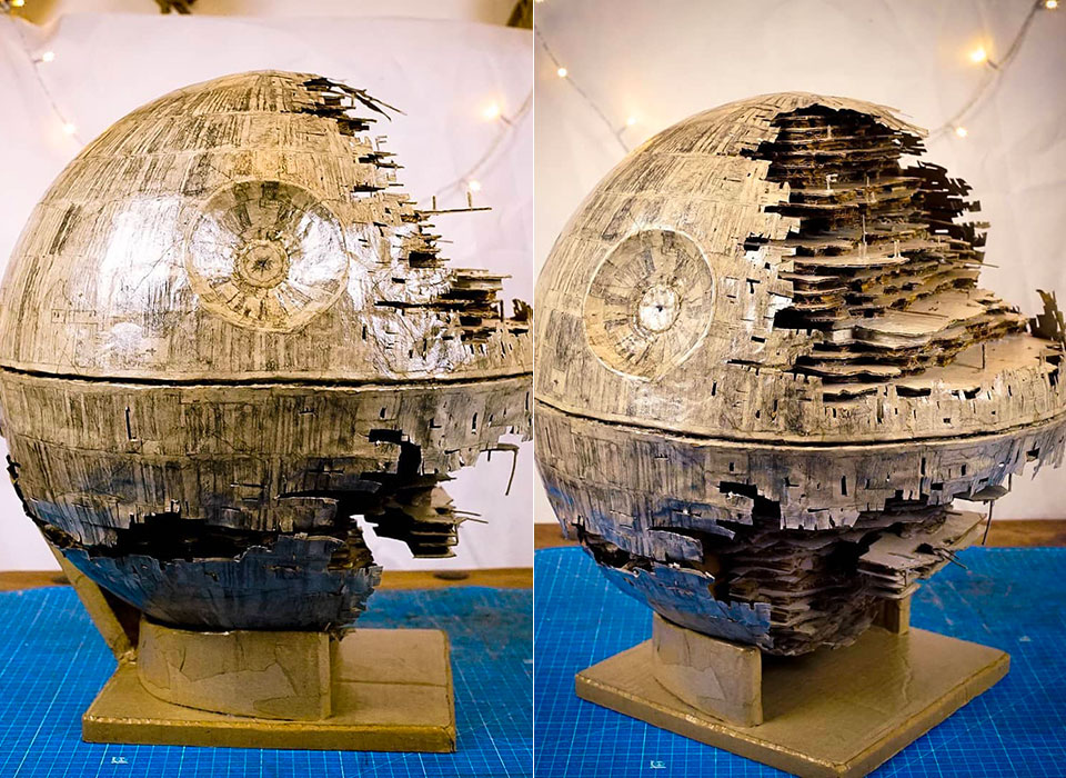 Star Wars Cardboard Death Star II