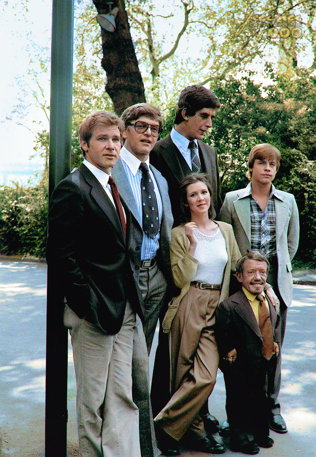 Star Wars Cast 1977
