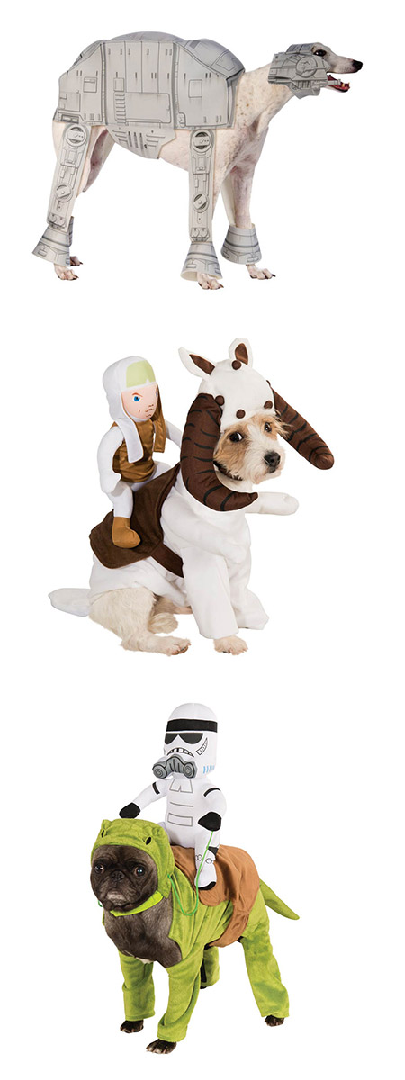 Dog costumes are nothing new but for Star Wars fanatics these new products by Costume Craze just might be exactly what youu0027re looking for.  sc 1 st  TechEBlog & Star Wars Dog Costumes Might Be Geekeist Ever - TechEBlog