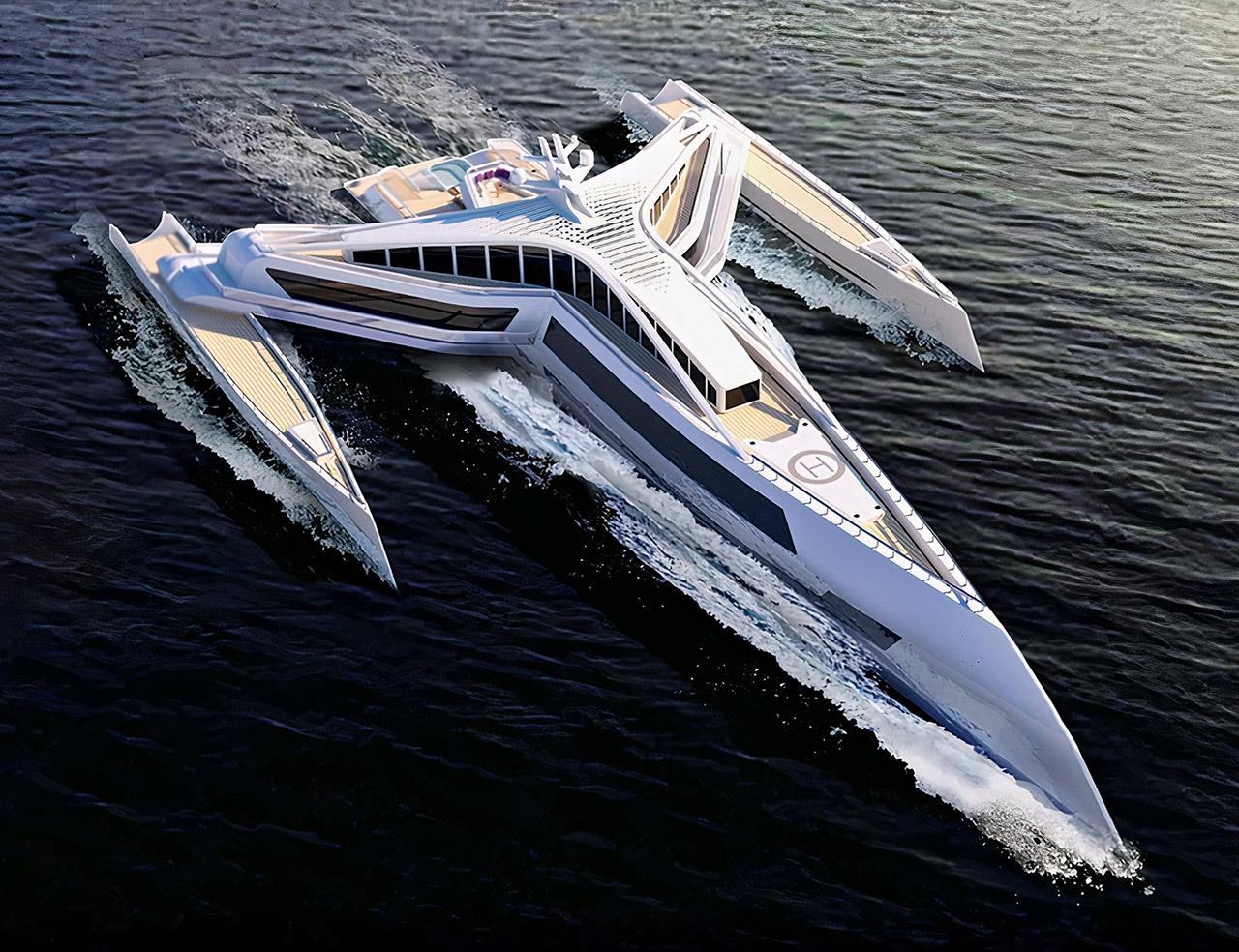 Star Wars Estrella Superyacht Y-Wing