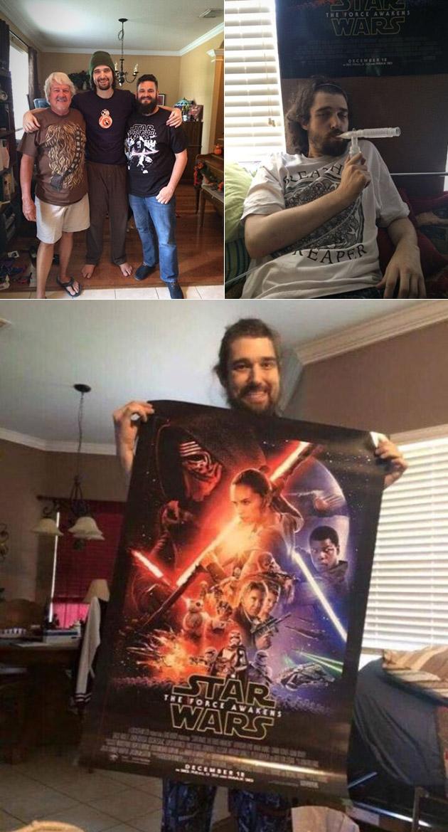 Star Wars Fan Force Awakens Early