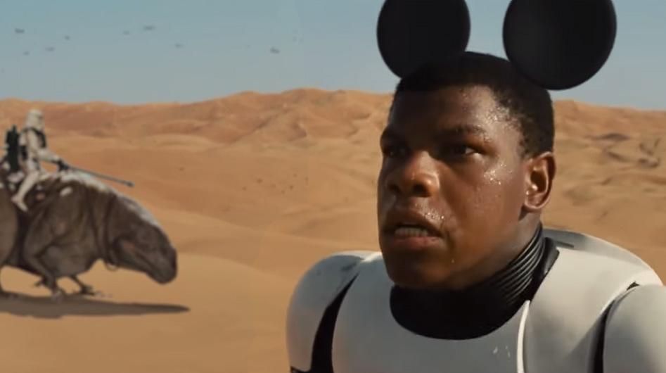 Star Wars Force Awakens Parody