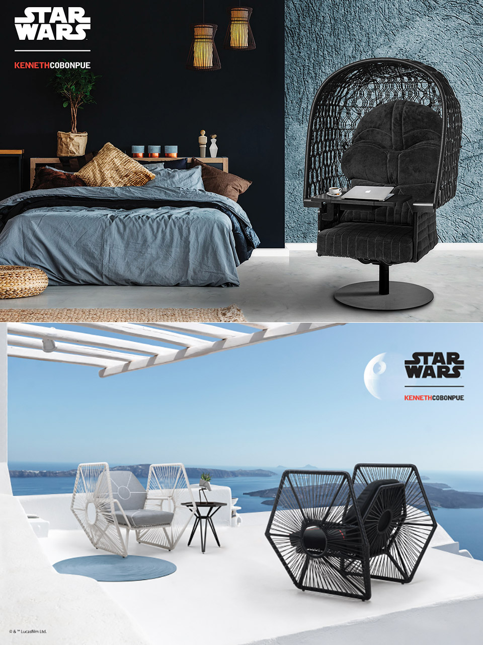 Star Wars Inspired Furniture By Kenneth Cobonpue Might Be Geekiest