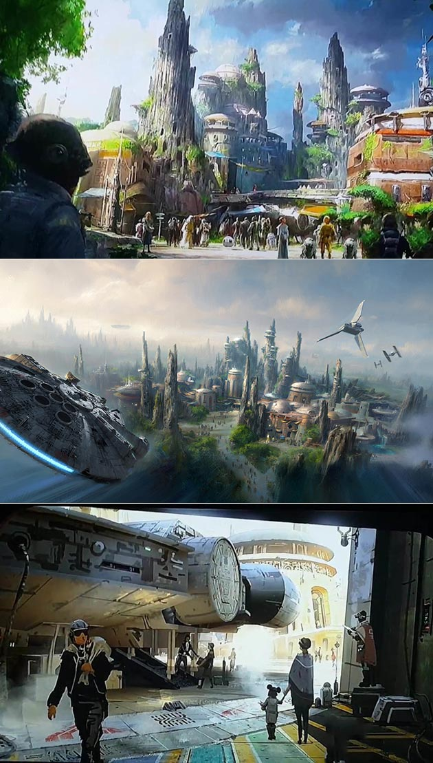 Star Wars Land Pictures
