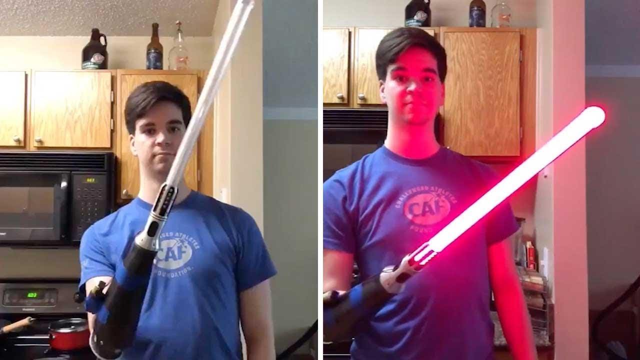 Star Wars Lightsaber Bionic Arm