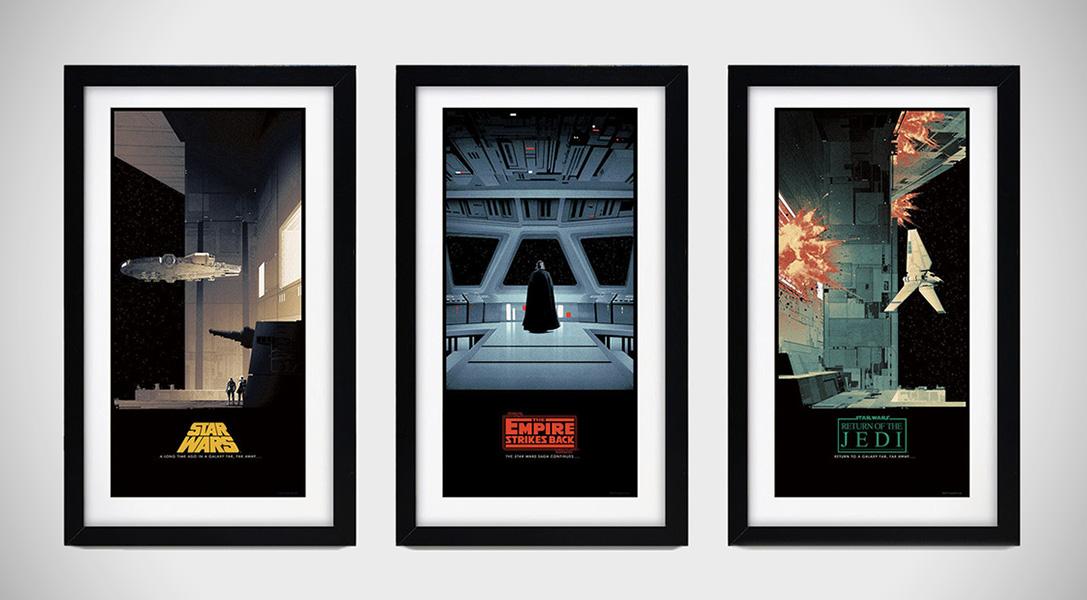 Star Wars Saga Posters