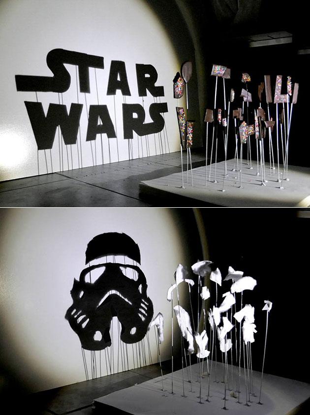 Star Wars Shadow Art