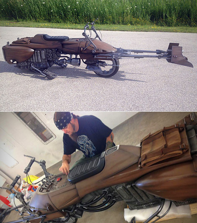 Star Wars Speeder Bike Motorcycle