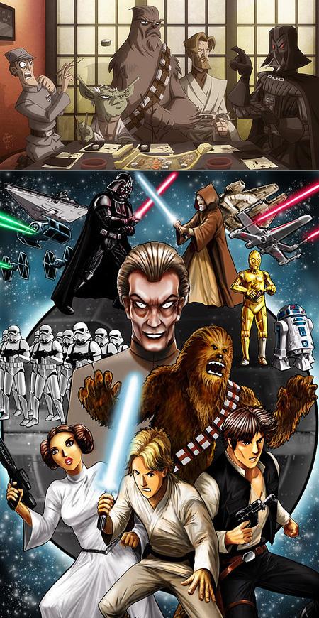 If Star Wars Was An Anime Techeblog