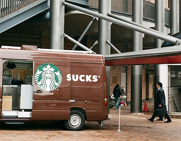 Starbucks Fail
