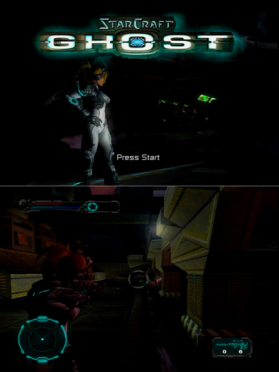 Xbox StarCraft: Ghost