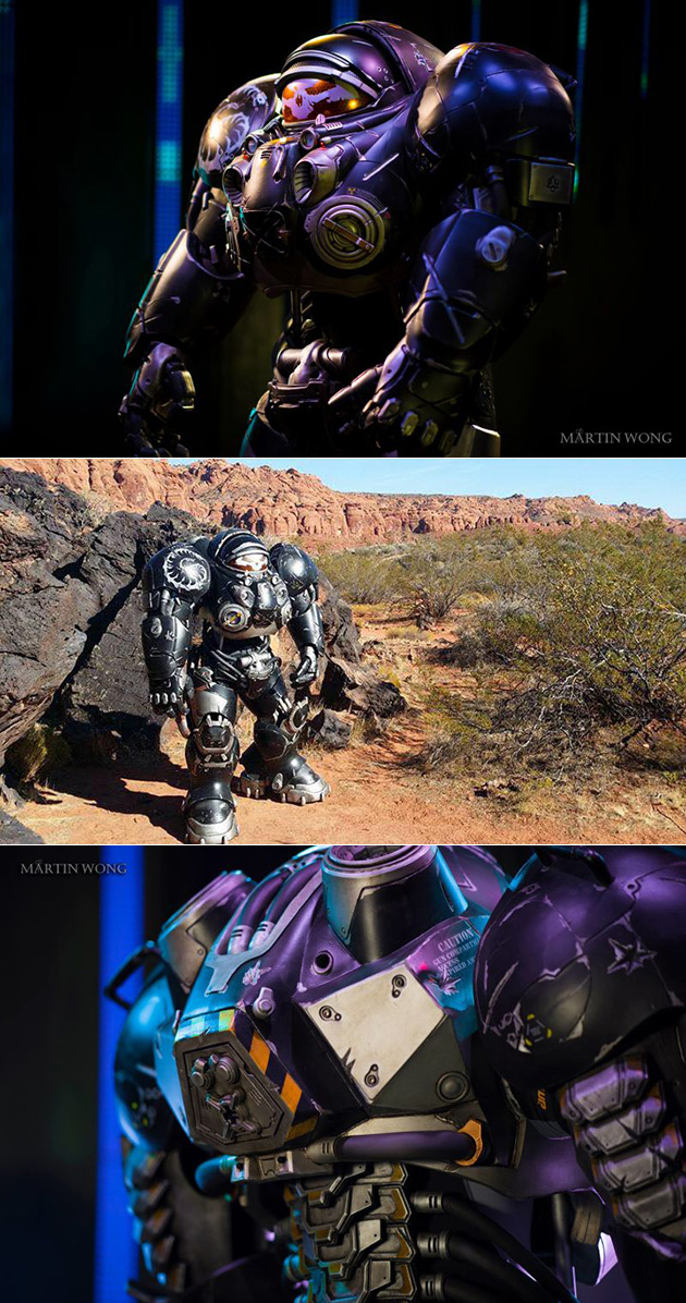 StarCraft Marine Cosplay