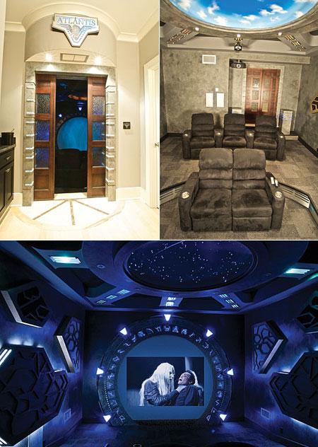 Mind-Blowing Stargate Atlantis Home Theater - TechEBlog