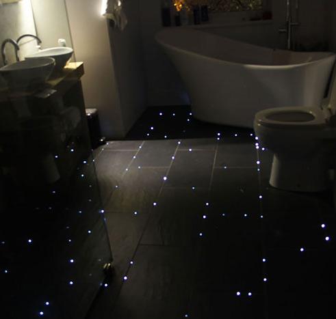 Starry Night Sky Floor