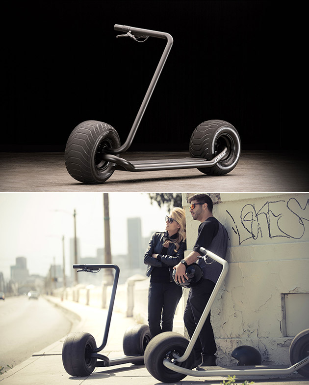 Stator Self-Balancing Scooter