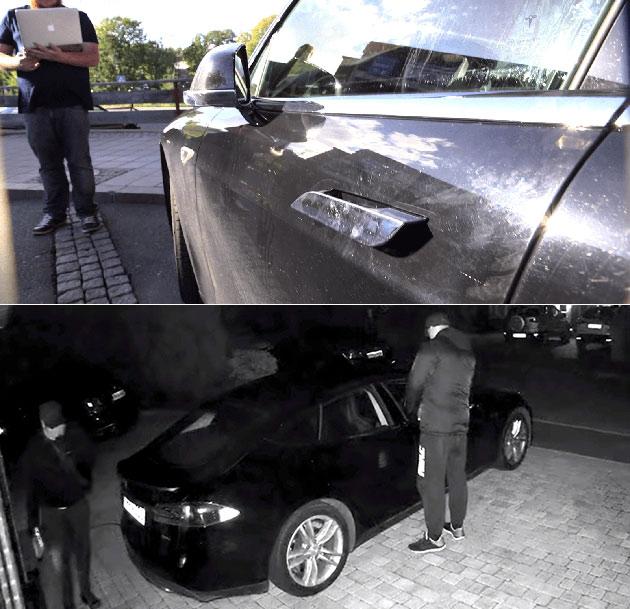Stolen Tesla Model S