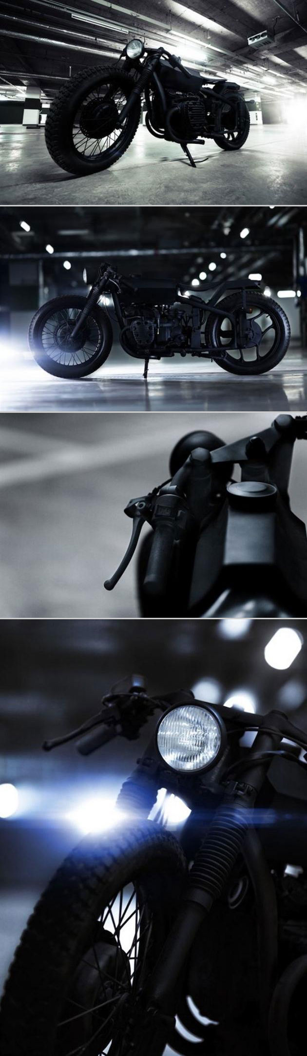 Stealth Nero Motorcycle