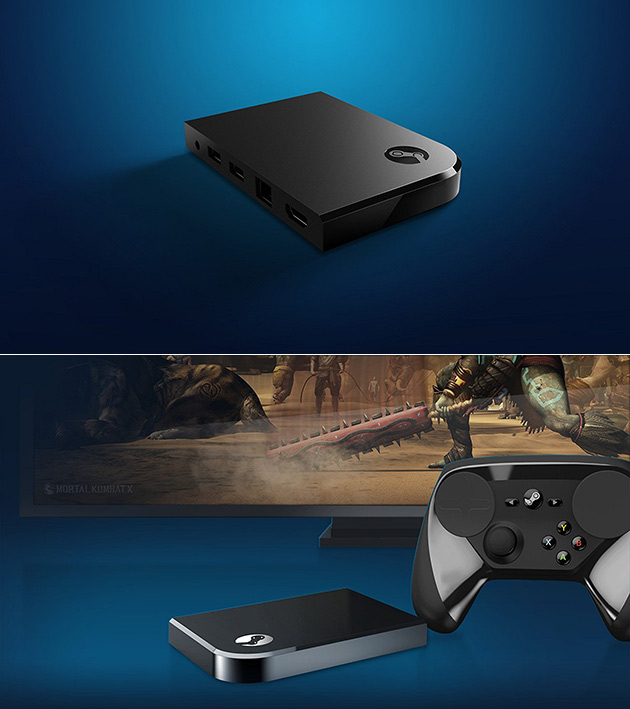 Steam Link Media Player