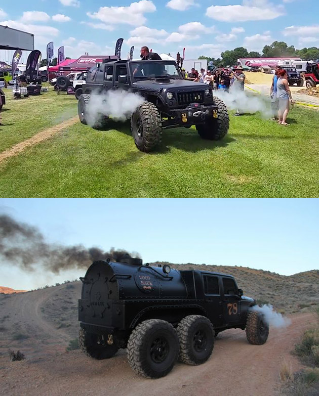 Steam-Powered Jeep