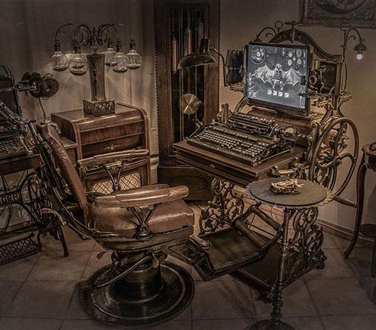 Functional Steampunk Computer