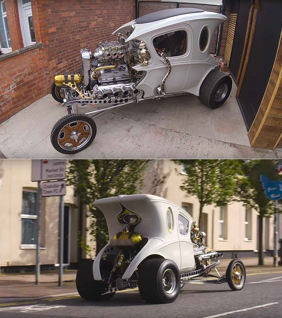 Steampunk Hot Rod
