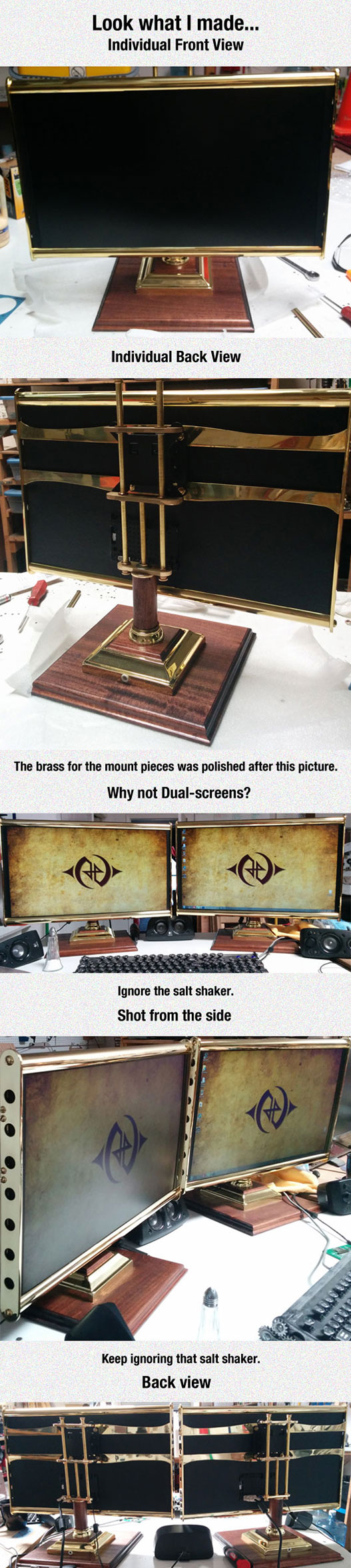 Steampunk Monitors
