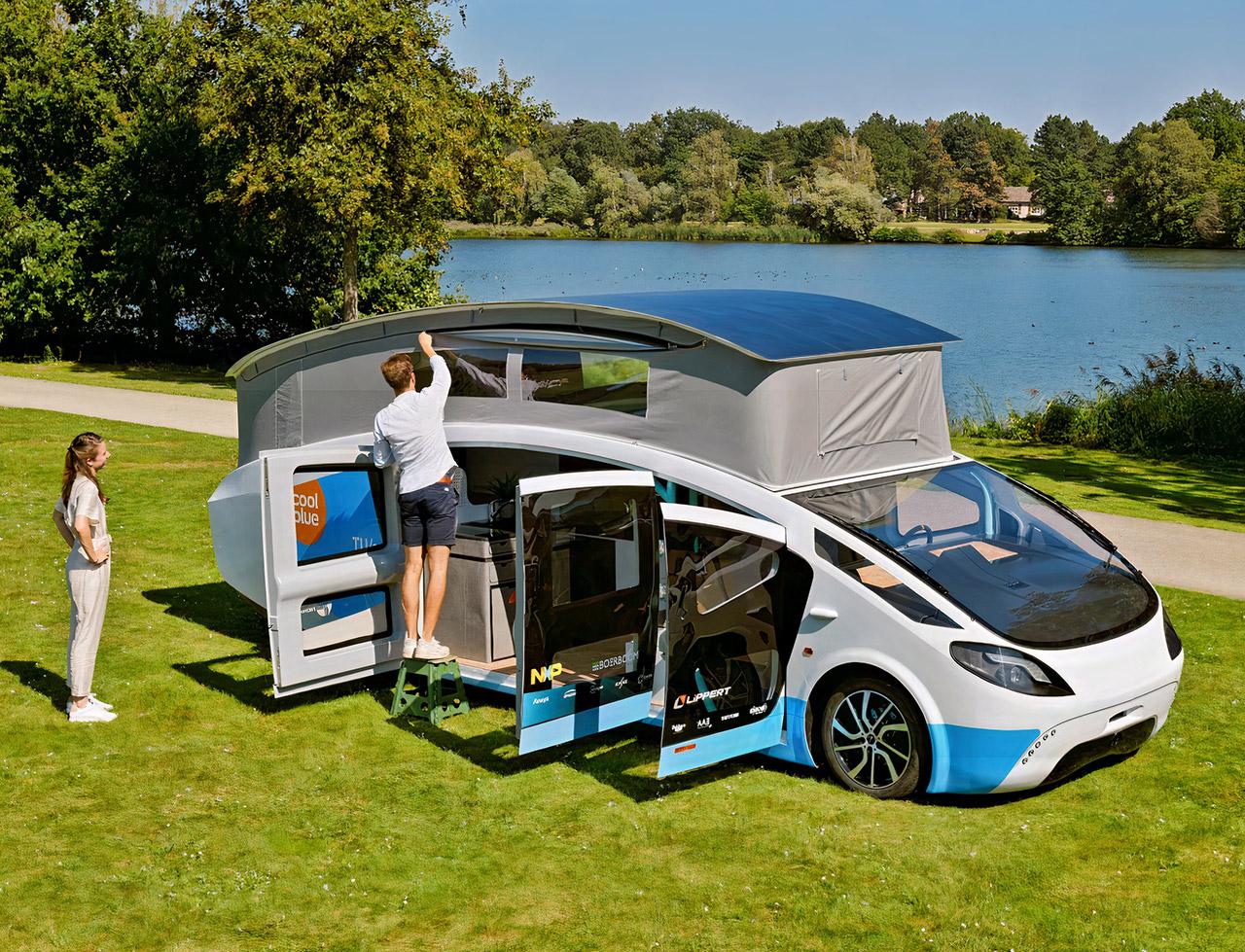 Stella Vita First Solar-Powered House Wheels Tu Eindhoven