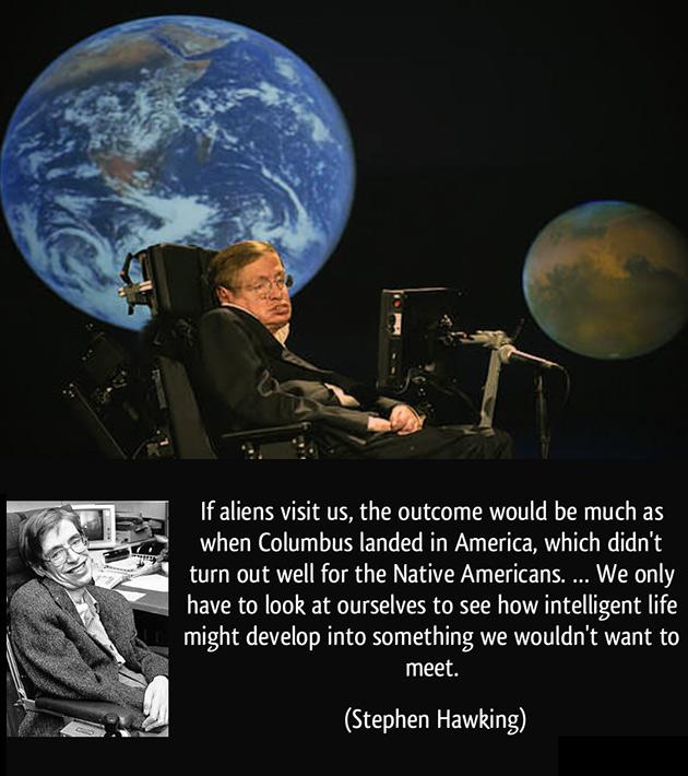 Stephen Hawking ET
