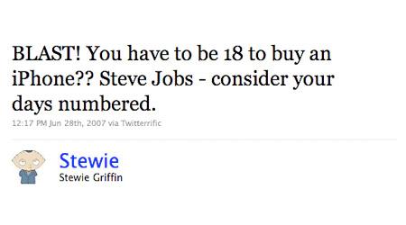 12 Funny Stewie Griffin Family Guy Tweets Techeblog