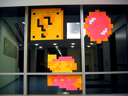 Bien connu Feature: When Post-it Notes are Transformed into Pixel Art - TechEBlog XP09