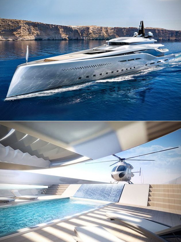Oceanco Stiletto Superyacht