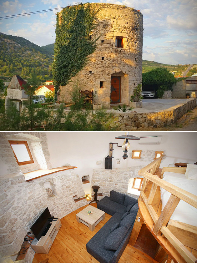 250-Year-Old Stone Tower Home