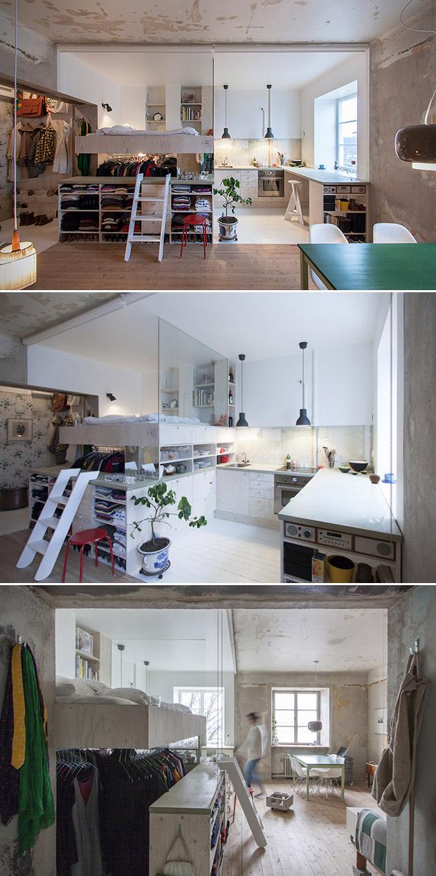 Storage Unit Apartment