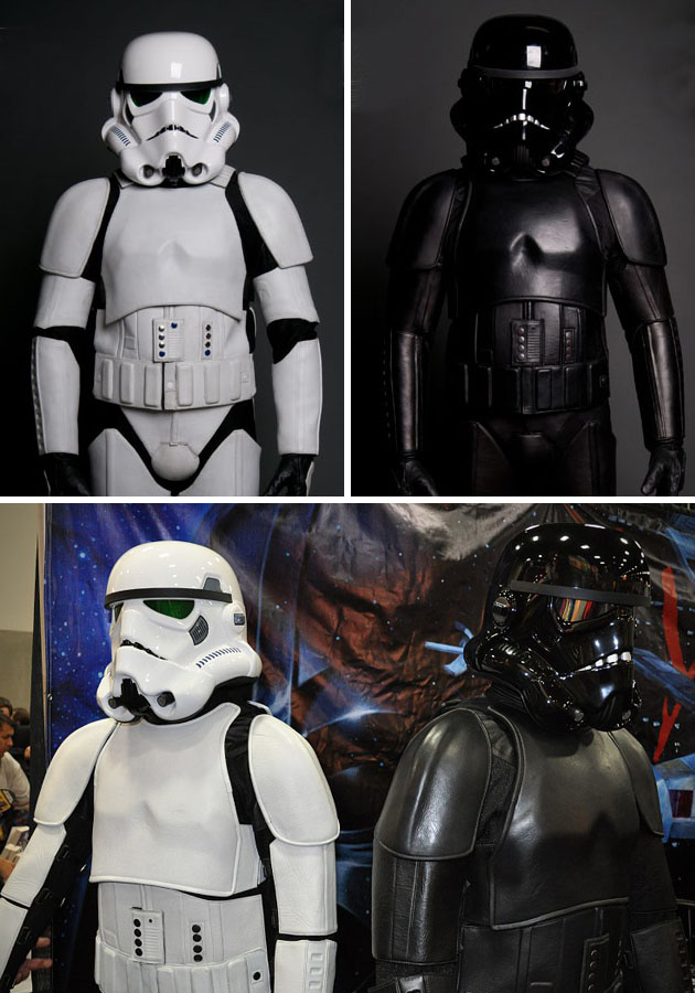 Stormtrooper Darth Vader Motorcycle Suits