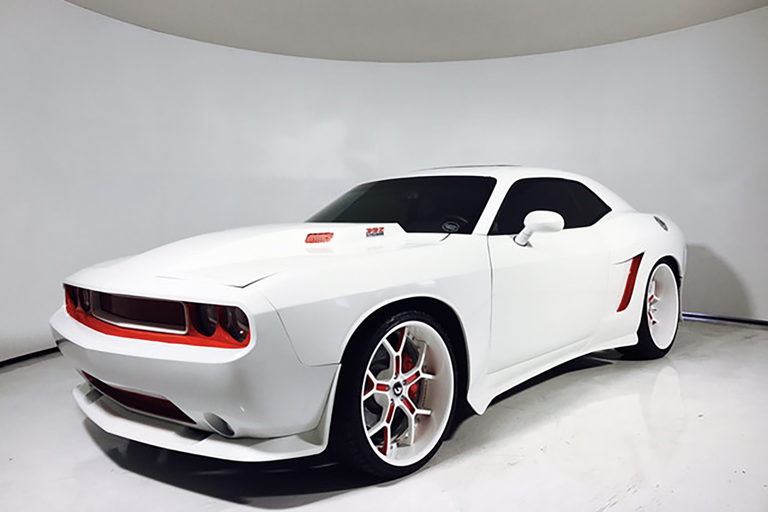 stormtrooper dodge challenger looks like a real life hot. Black Bedroom Furniture Sets. Home Design Ideas