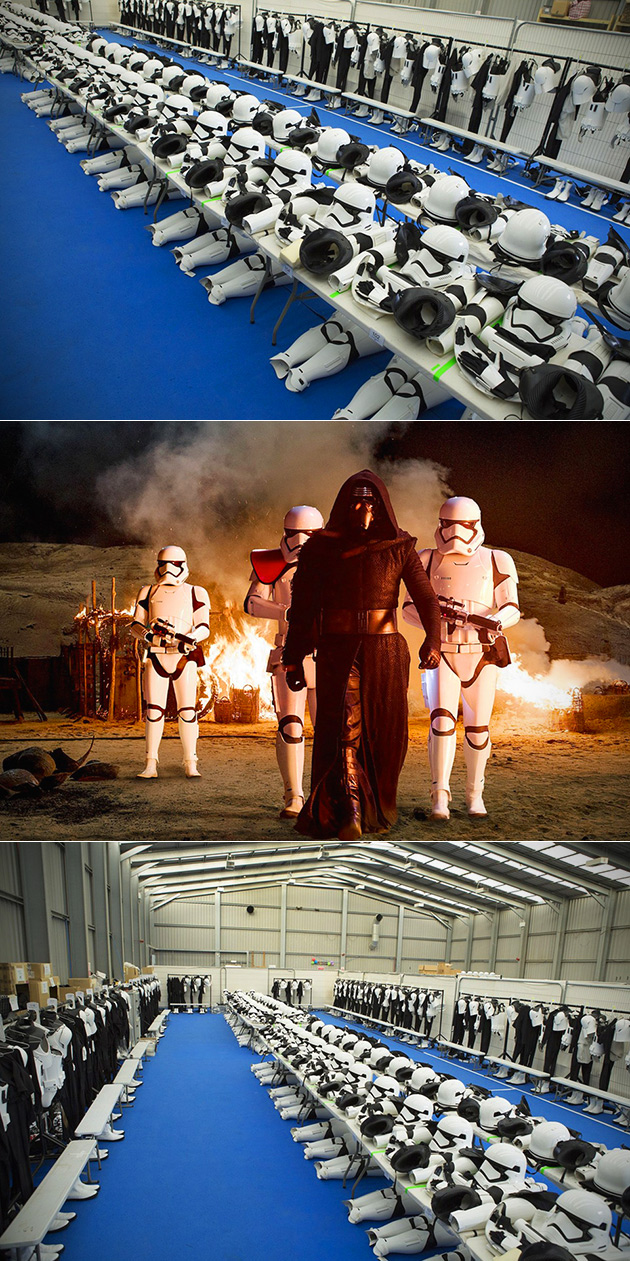 Stormtrooper Force Awakens Dressing Room