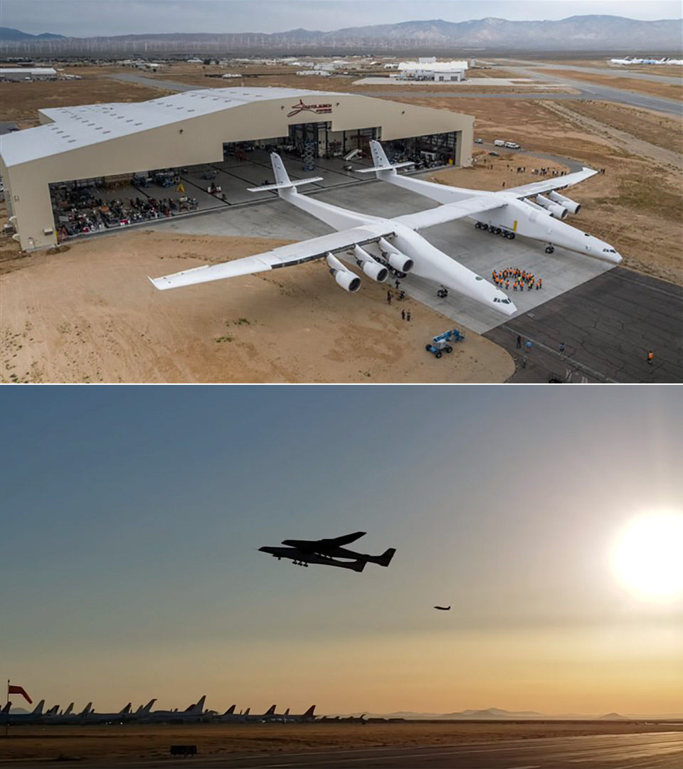 Stratolaunch Largest Plane First Flight